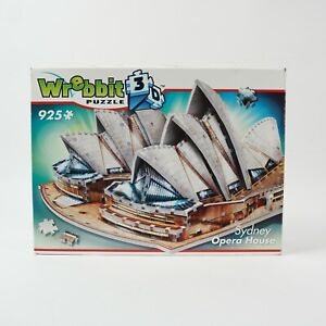 Wrebbitt 3D Arcitectural Puzzle Sydney Opera House 925 Piece HIGH QUALITY