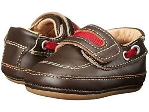 NIB Umi Baby Penny Loafer Shoes Gene Brown Red EU 19 20 US 4 5