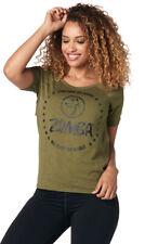 XL 42 *NEU* Zumba Fitness Shirt Top MVP Racerback Gr