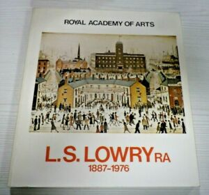 L.S LowryExhibition Catalogue 1976 The Royal Academy of Arts