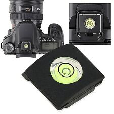 New Hot Shoe Cover Cap Bubble Spirit Level For Canon Nikon Olympus Pentax DSLR
