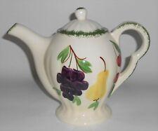 Blue Ridge Southern Potteries Fruit Fantasy Teapot w/Lid