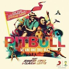 We Are One (ole Ola) The Official 2014 (ger) 0888430743120 by Pitbull CD