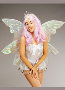 Gorgeous Large Gold Glitter Iridescent Fairy Wings