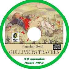 Gulliver's Travels Audio Book 40 episodes MP3 CD by Jonathan SWIFT
