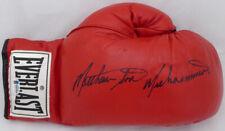 Matthew Saad Muhammad Autographed Red Everlast Boxing Glove Beckett F87959