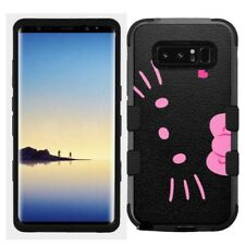 for Samsung Galaxy Note 8 Rugged Hard+Rubber Hybrid Case Hello Kitty #BP