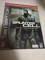 Tom Clancy's Splinter Cell - Prima Strategy Guide - XBOX Promotional Copy