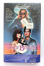 Once Bitten BETA NOT VHS 1985 Jim Carrey Lauren Hutton SCI-FI FANTASY Movie