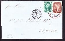 US 29 & 35 5c & 10c on Cover to France Tied by NY & NO CDS SCV $560+