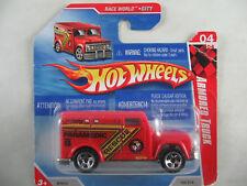 Hot Wheels 2010 #182 ARMORED TRUCK in rot 1:64 NEU/OVP