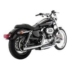 Vance & Hines Straightshots Slip-Ons Chrome, pour Harley - Davidson Sportster
