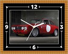 Alfa Romeo Giulia Wall Clock Present Christmas Birthday (Can Be Personalised)