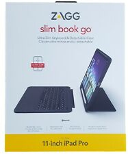 "ZAGG Slimbook ir Ultrafino Teclado Iluminado Con Bisagras Funda Con Soporte iPad Pro 11"" 2019"