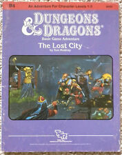 B4 - The Lost City (4th) - Dungeons & Dragons - D&D TSR <RARE - LAST PRINTING>