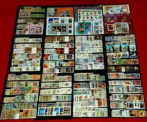 {BHUTAN Massive Collection< 800+MNH + 200 Used<Scott #1-1424+ S/S<No Duplicates}