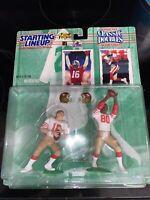 Starting Lineup Joe Montana & Jerry Rice Classic Doubles 1997