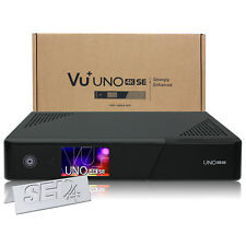 VU+ Uno 4K SE Sat DVB-S2 Dual FBC Receiver USB3 Enigma2 Ultra HD UHD