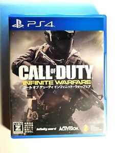 """Call of Duty Infinite Warfare CERO rating """"Z""""- PS4 Japan Free Shipping from USA"""