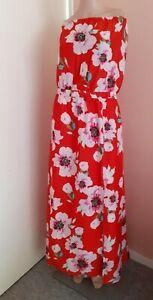 Studio Women's Bandeau Maxi Dress Sizes 12-14 And 24-26 Holiday, Travel Blu15563