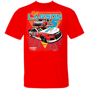 Men's #5 Kyle Larson Hendrick Motorsports Team Graphic 2-Spot T-Shirt S-5XL