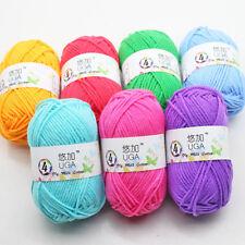 Korea fiber Yarn Knitting Wool 1BallX25g Crochet Ball Bulk Lot Mixed 42 Colours