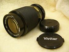 VIVITAR MC 1:4 .5 70 – 210mm Macro-Objetivo zoom de enfoque. montaje OLYMPUS OM.