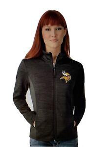Minnesota Vikings NFL Women's G-III Full Zipper Jacket Size Medium - NWT