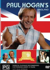 PAUL HOGAN'S ENGLAND - NEW & SEALED DVD FREE LOCAL POST