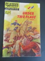 CLASSICS ILLUSTRATED #86 UNDER TWO FLAGS 1ST ED HRN 87 COMIC AUGUST/1951