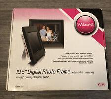 "aluratek digital photo 10.5"" frame"