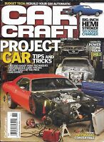 Car And Driver Auto Magazine Project Tips And Tricks Hemi Stroker Dodge Charger