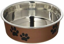 Loving Pets Metallic Bella Bowl for Pets, Small, Copper