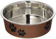 Loving Pets Metallic Bella Bowl for Pets, Small, Copper