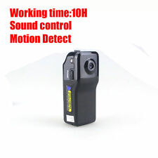 Mini Spy Hidden Camera Security Sound Control Voice Activated Motion Detect Cam
