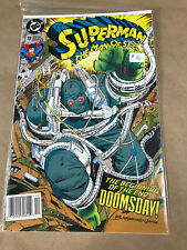 Superman: The Man of Steel #18 Dec 1992, DC NM 1st. Full App. Doomsday Newstand