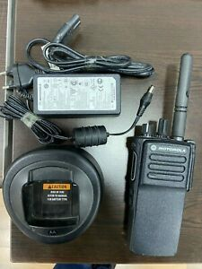 MOTOROLA MDH56JDC9VA1AN DP4400e MotoTRBO VHF Portable Radio