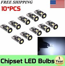 10Pcs LED Extremely Bright 3030 Chipset LED Bulbs for Car Interior Dome Map Door