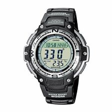 Casio SGW-100-1V Water Resistant Digital Compass Twin Sensor Sports Mens Watch