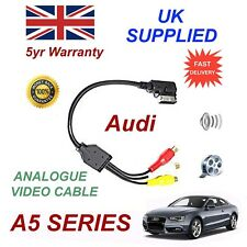 For AUDI A5 4F0051510N RCA PHONO Analogue Audio Video Cable 2012+ ami mmi