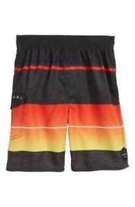 Rip Curl Boys Size L ECLIPSE VOLLEY Kids Children Boardshort Shorts New - Black