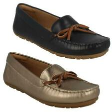 Loafers 100% Leather Upper Material Standard Width (D) Flats for Women