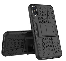 NEW Apple iPhone X TOUGH Armor Rugged Case Heavy Duty SHOCKPROOF TPU Cover