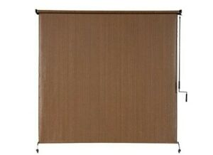 Coolaroo Exterior Roller Shade, Cordless Roller Shade with 90% UV Protection, No