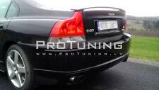 REAR Bumper lower spoiler lip for VOLVO S60 Diffuser line R Skirt valance