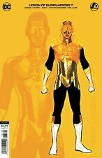 Legion of Super Heroes #7 1:25 VARIANT Gold Lantern 1st