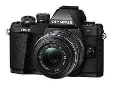 Olympus OM-D E-M10 Mark II Mirrorless Digital Camera w/ 14-42mm IIR Lens (Black)