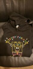 Teddy Fresh x SpongeBob Hoodie (Black) Size Medium