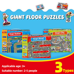 Fun Educational Scenery Giant Floor Puzzles Toy Jigsaw For Kid Children 3 Year