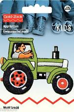 Applikation Nr. 925363  Traktor Buldog Aufbügeler PRYM nähen bügeln Jacke Hose